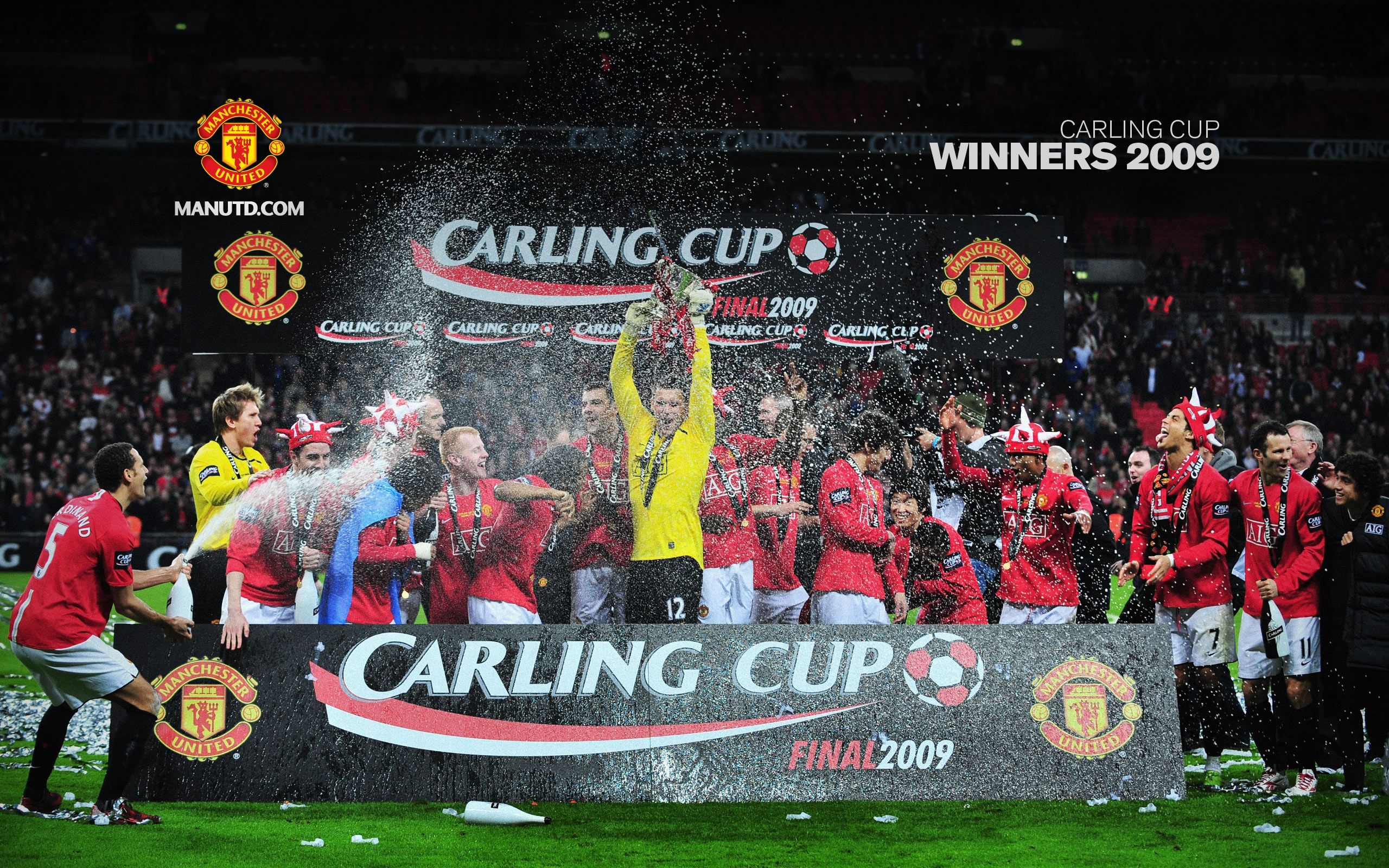 Carling Cup 2009 Manchester United Manchester United Fans Official Manchester United Website