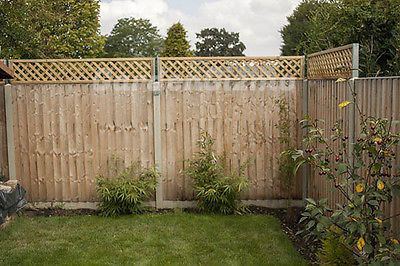 1pair X Trellis Height Extenders Extensions Attachments Fence Post