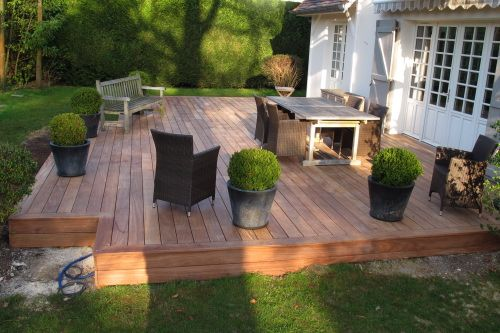 Terrasse en bois matelas 2017 for Photos terrasse en bois