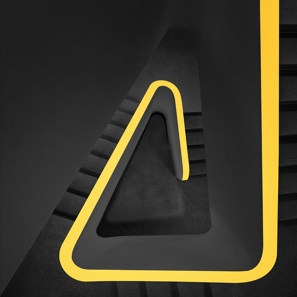 1X - follow the yellow line by Markus Studtmann