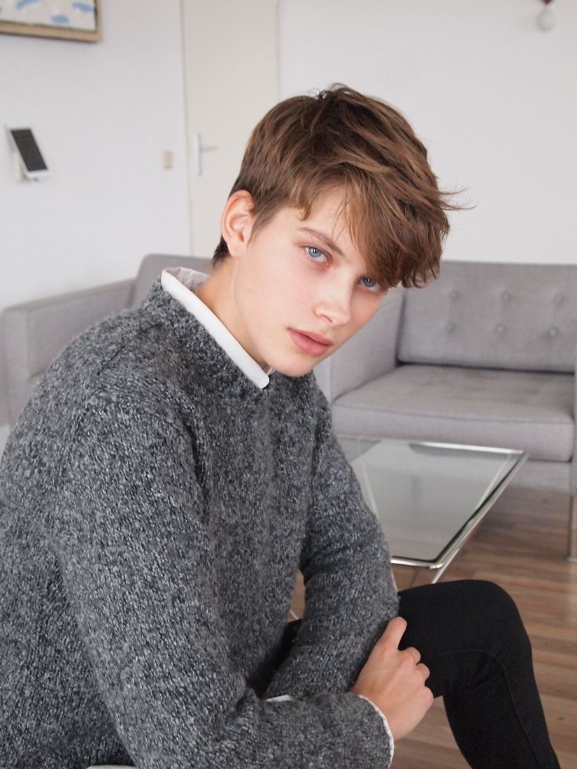 Pin By Ana Bkea On People Tomboy Hairstyles Tomboy