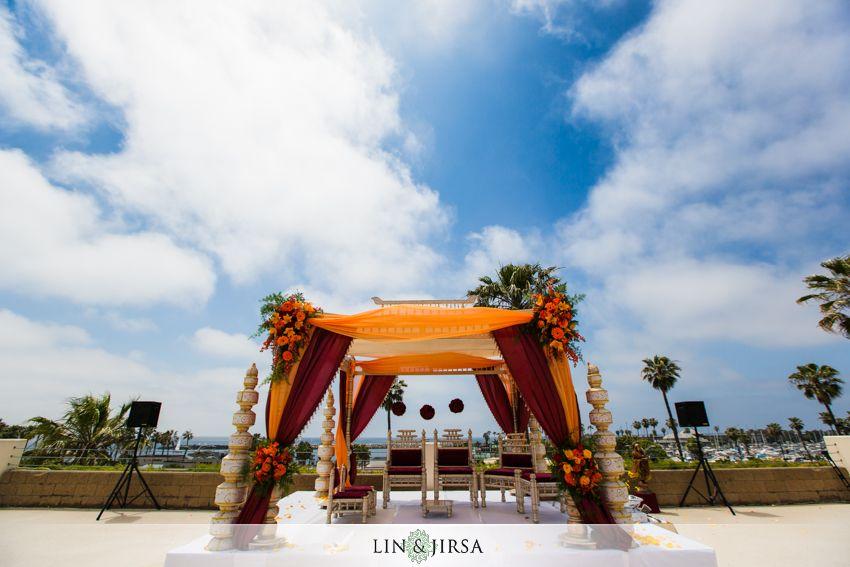 Crowne Plaza Redondo Beach Wedding Indian Ceremonywedding Ceremonieswedding Venuessouth Asian Weddingindian Weddingsbeach Weddingslos Angeles