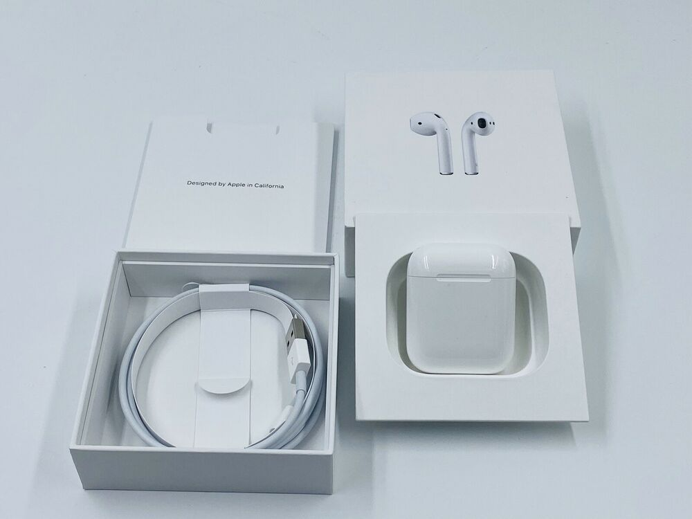 Apple Airpods 2nd Generation With Charging Case Latest Model