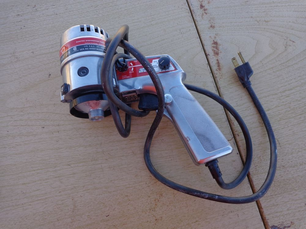 Electro Solid State Rotary Airless Paint Gun Spray 2400