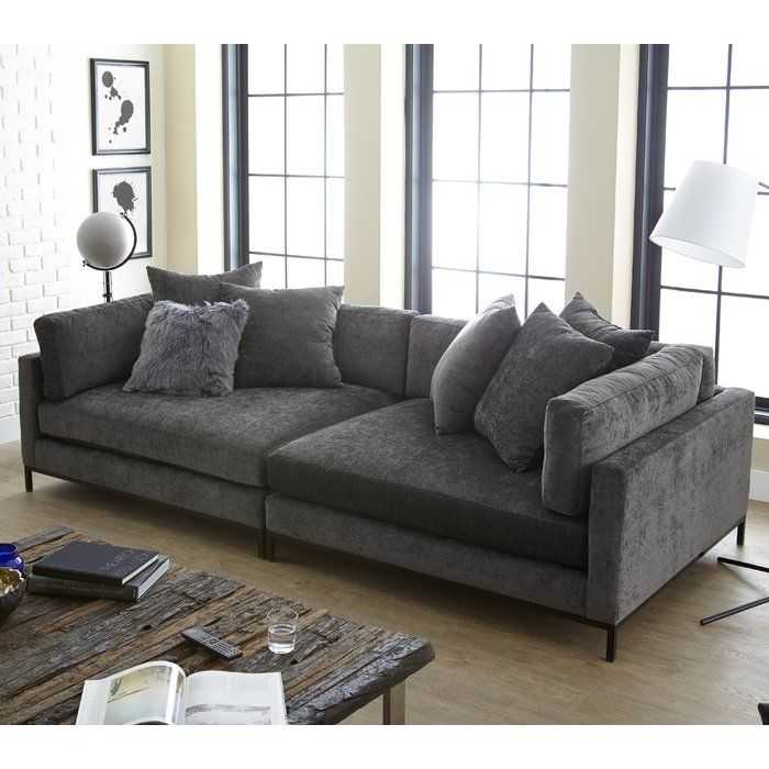 Veda 118 Wide Square Arm Sofa Deep Sofa Deep Sofa Comfy Couches Couches Living