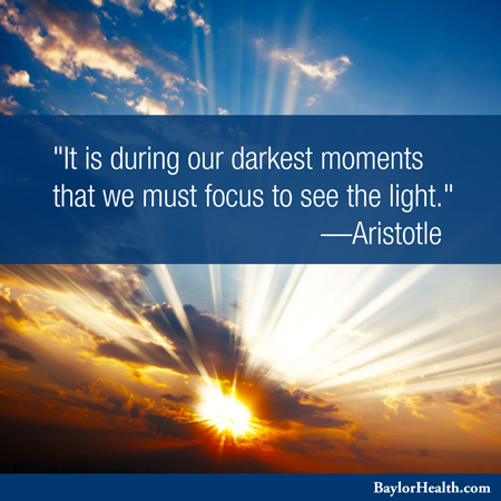 Pin By Baylor Scott White Health On Things That Inspire Light Quotes Prayer For Today Picture Quotes