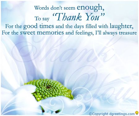 dgreetings i have no words to say thanks to u thanks