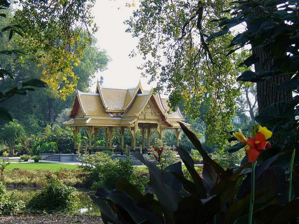 Superbe The Thai Pavilion And Garden At Olbrich Botanical Gardens In Madison,  Wisconsin, US