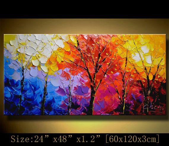 Resultado de imagen para cuadros abstractos modernos en for Pintura acrilica moderna