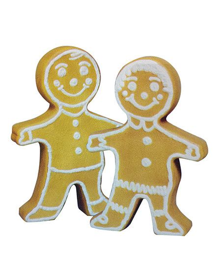 Gingerbread Figurine Lighted Décor Set
