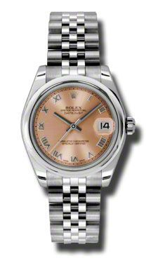 Rolex Datejust Pink Dial Automatic Stainless steel with Ladies Watch 178240PRJ  $5481.00