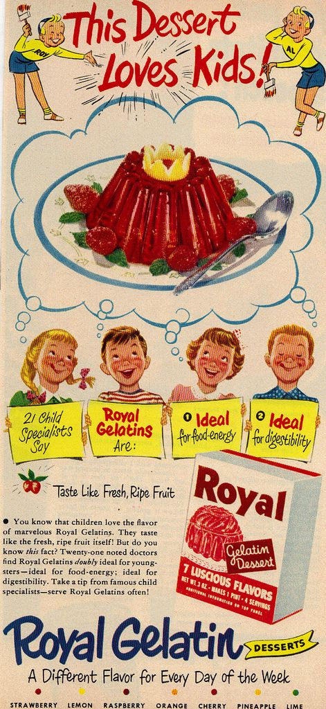 Royal Gelatin Magazine Ad