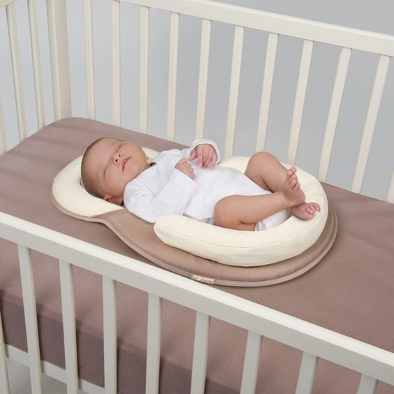 The BabyMoov Cosydream Sleep Positioner Offers Perfect Support For Your Babys Back Head And Legs