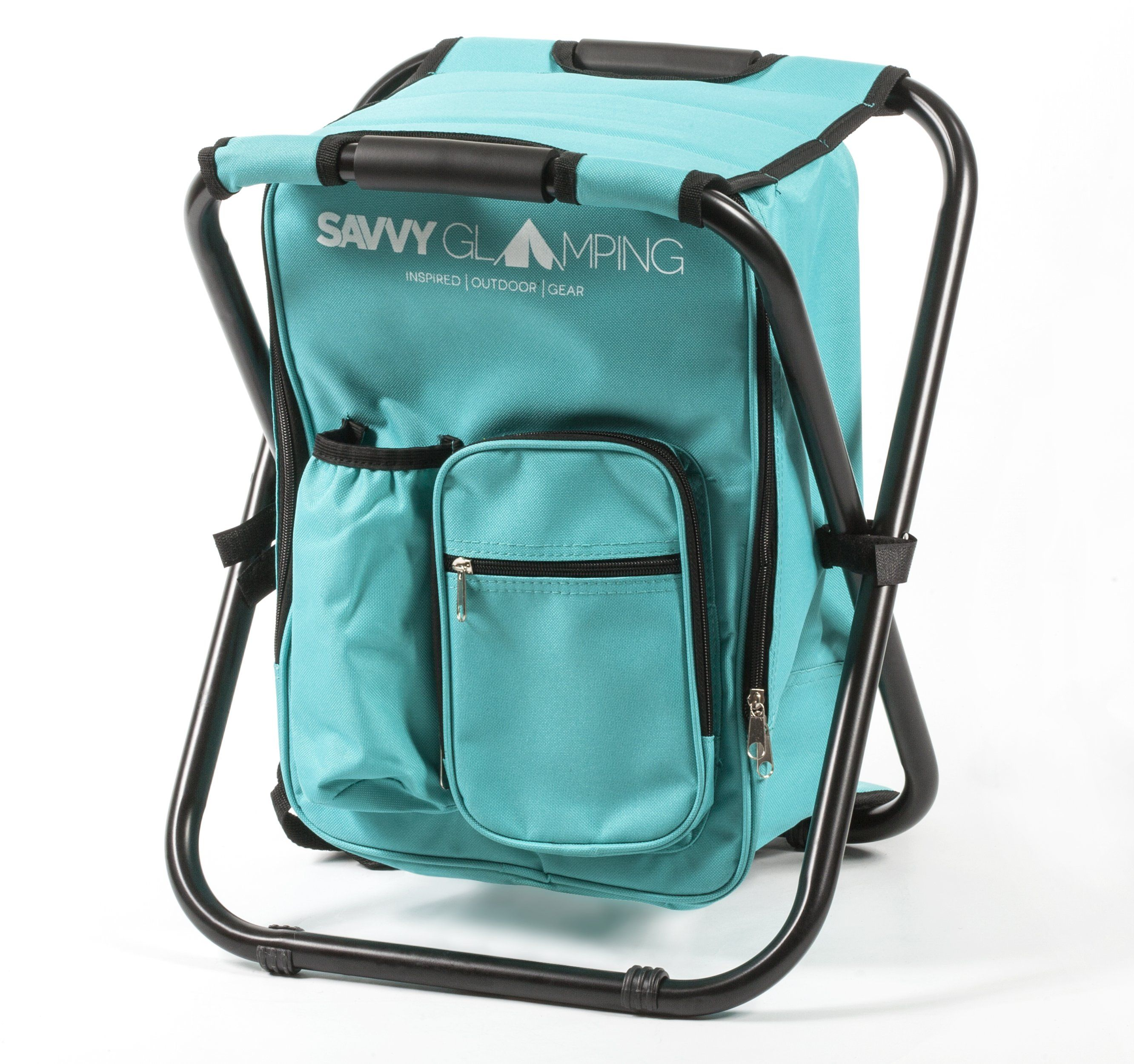 Backpack Folding Chair w Cooler
