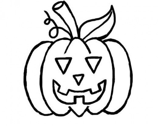 Halloween Pumpkin Drawing Picture.How To Draw A Pumpkin For Halloween A Simple Tutorial For Kids