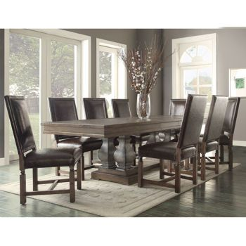 Costco Wholesale Dinning Room Decor Furniture Dining Table
