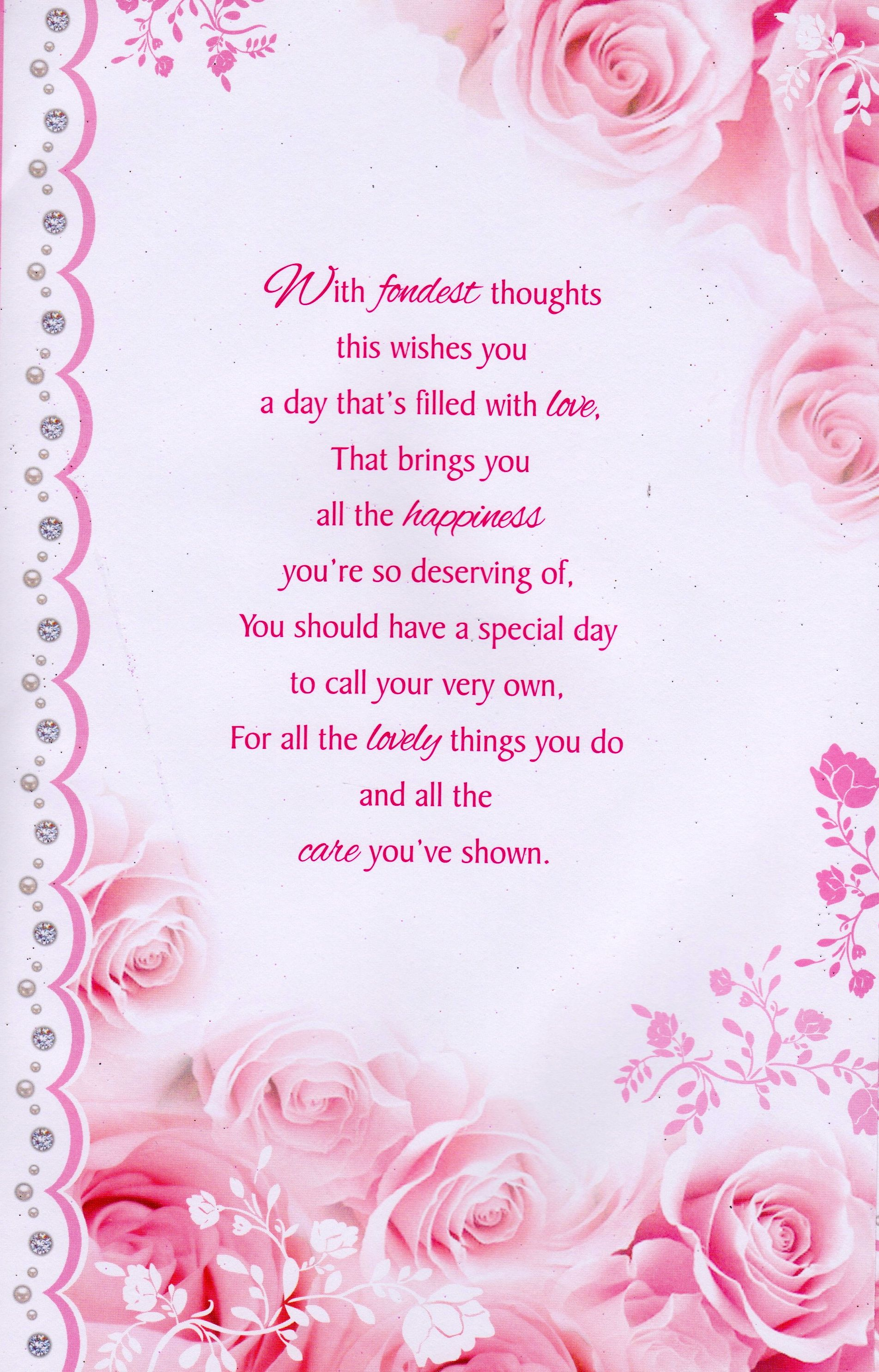 Mother's Day for Someone Special Happy Mother's Day To