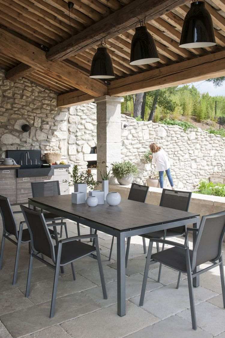 Une Terrasse Ombragee Jolis Exterieurs Pinterest Terrasse