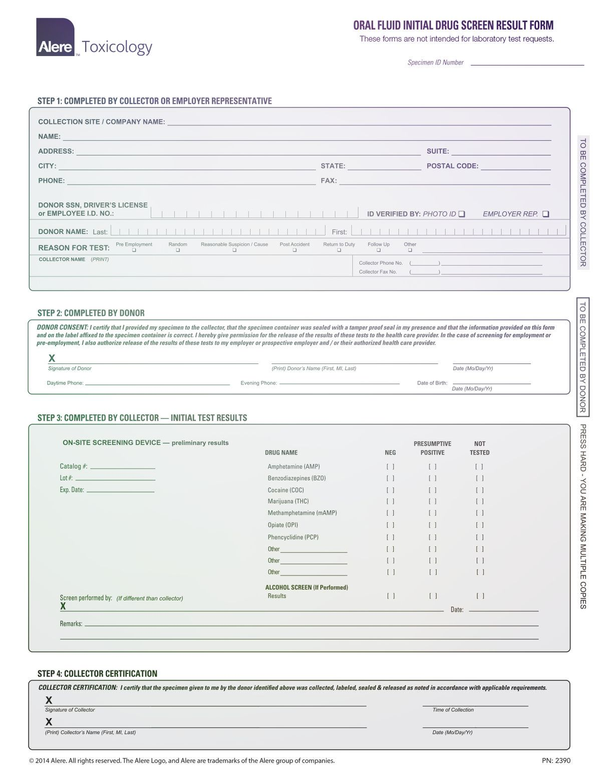 Pin On Drug Test Report Template Chain of custody form template