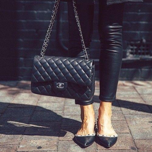 Favs Chanel Valentino By Tashsefton Valentino Shoes Bags Valentino Flats