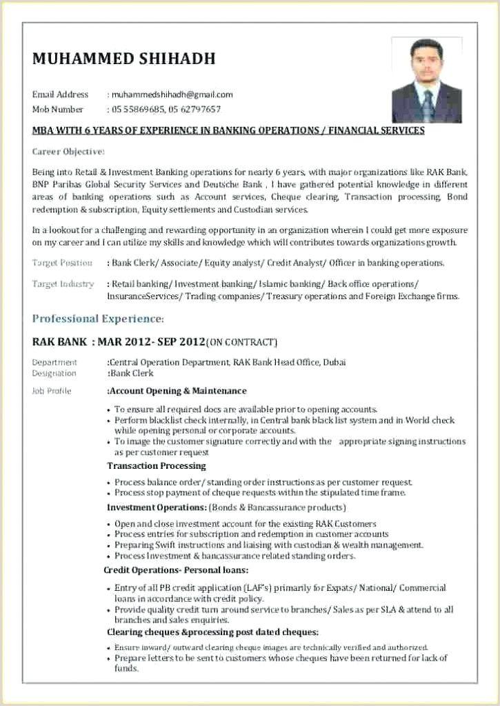 Job Resume Pdf India