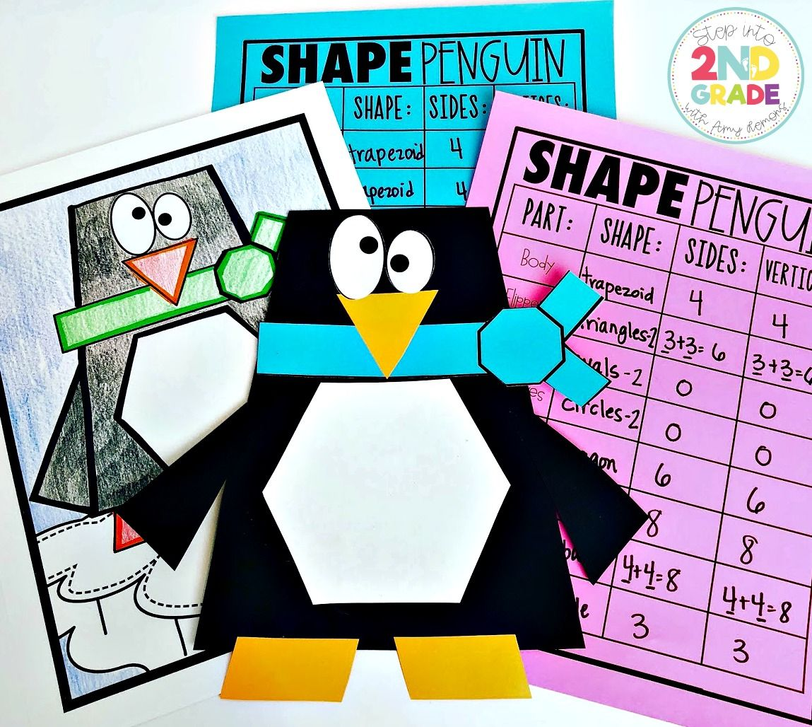 Students Create Penguins And Describe The Characteristics