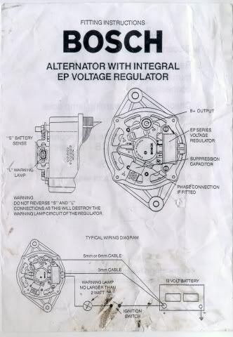Bosch Alternator Wiring. Torana. Please help | KfzPinterest
