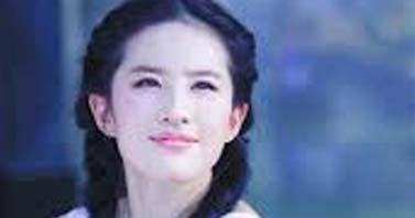 劉亦菲在新片的活動變得更加安全