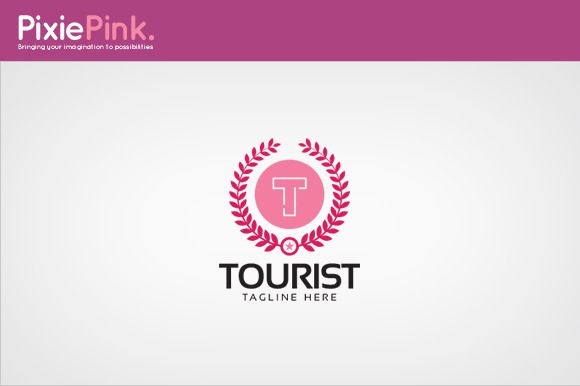 Tourist Logo Template by PixiePink on Creative Market