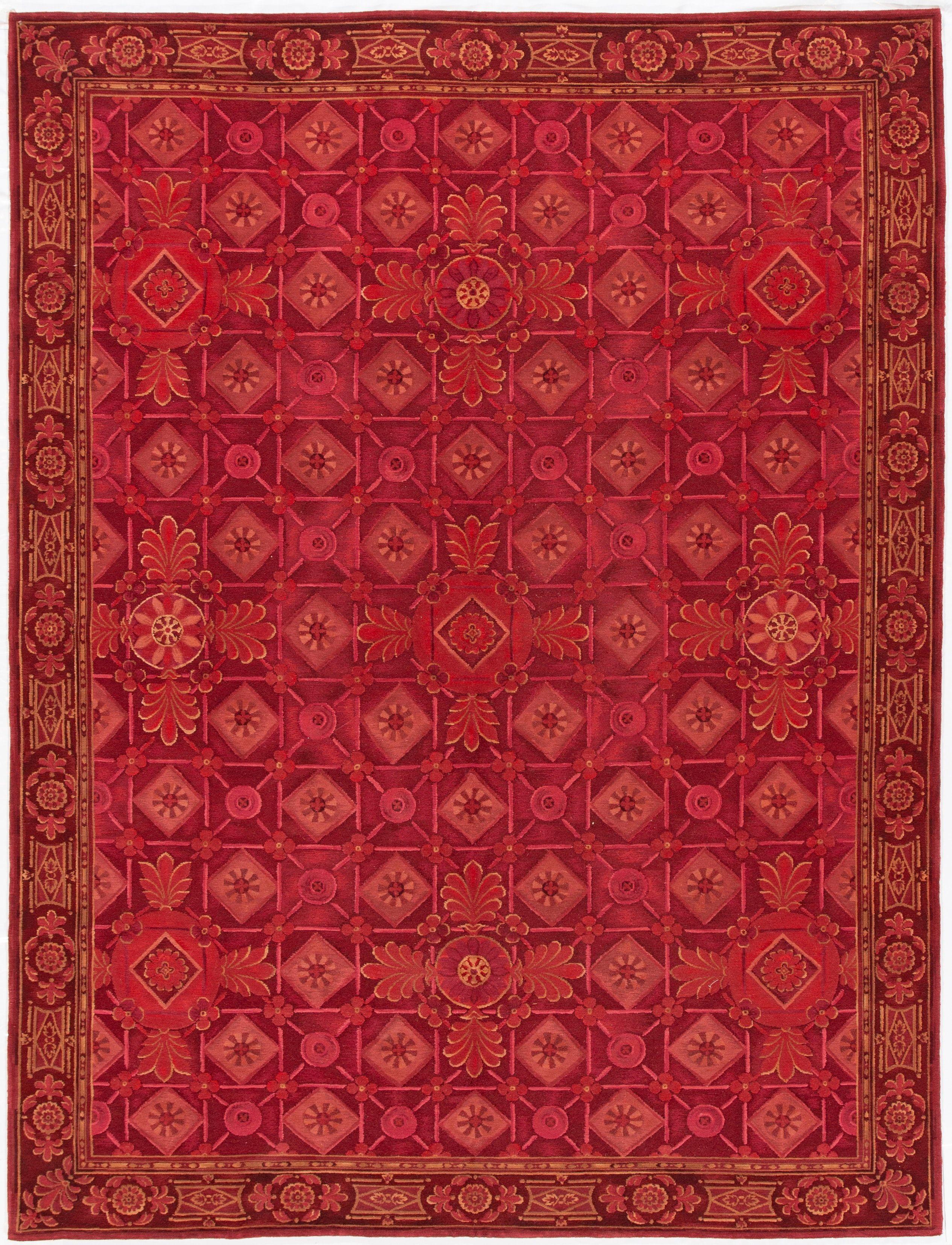 Contemporary Nepalese Rug, 9X12 by APADANA FINE RUGS ...