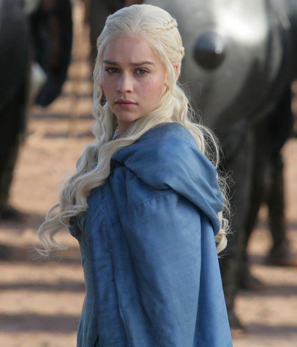 Emilia Clarke. Daenerys. Game of Thrones.