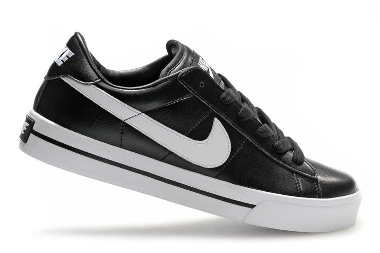 Heren Nike 902 Blazer Low Leather Zwart Wit Schoenen,Modern trainers can  bying to walk