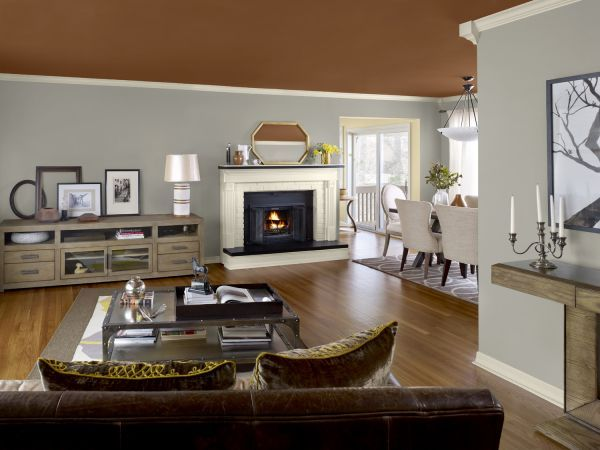 the home interior in this trends in interior paint colors 2014 looks