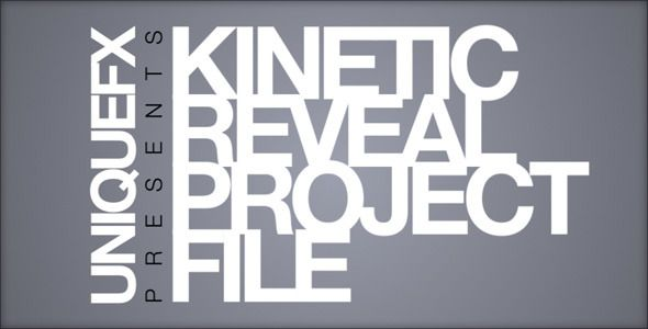 Kinetic reveal typography logos and motion graphics kinetic reveal after effects templatesa maxwellsz