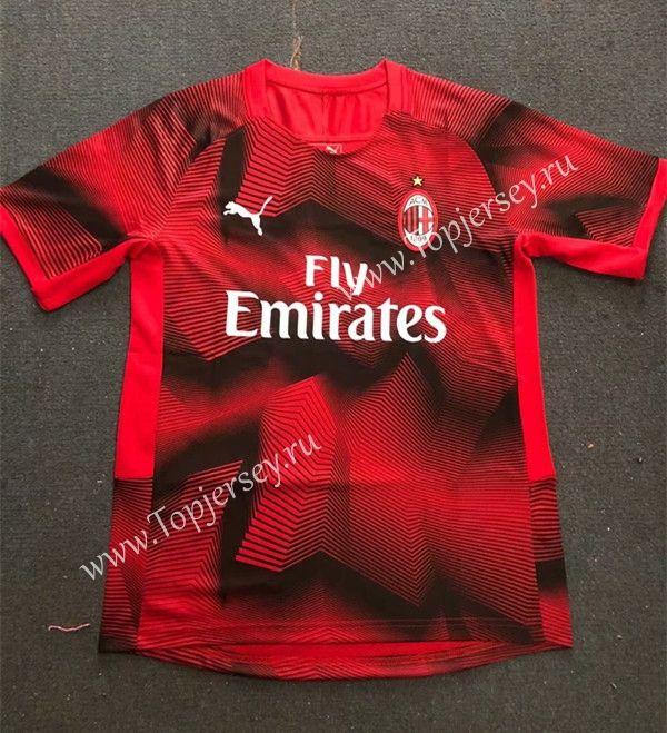2018-19 AC Milan Red | High Quality Training shirt | Soccer training