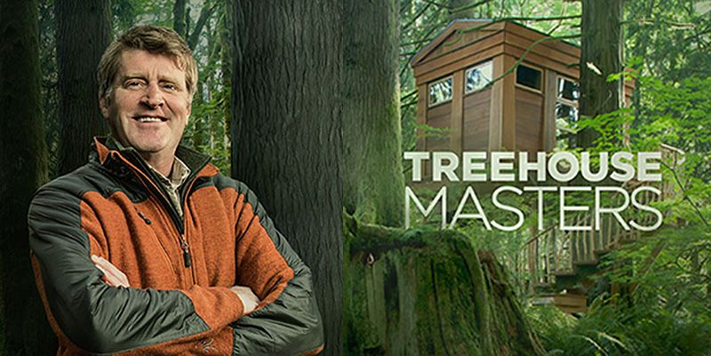 Alex Meyer the rigger from Treehouse Masters I could watch more of