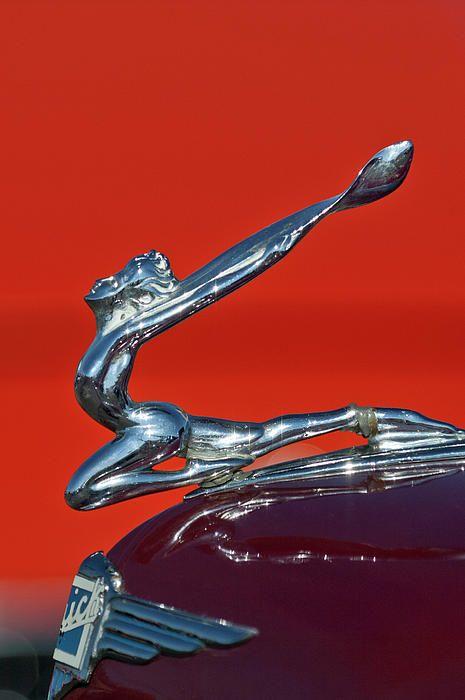 1934 buick hood ornament