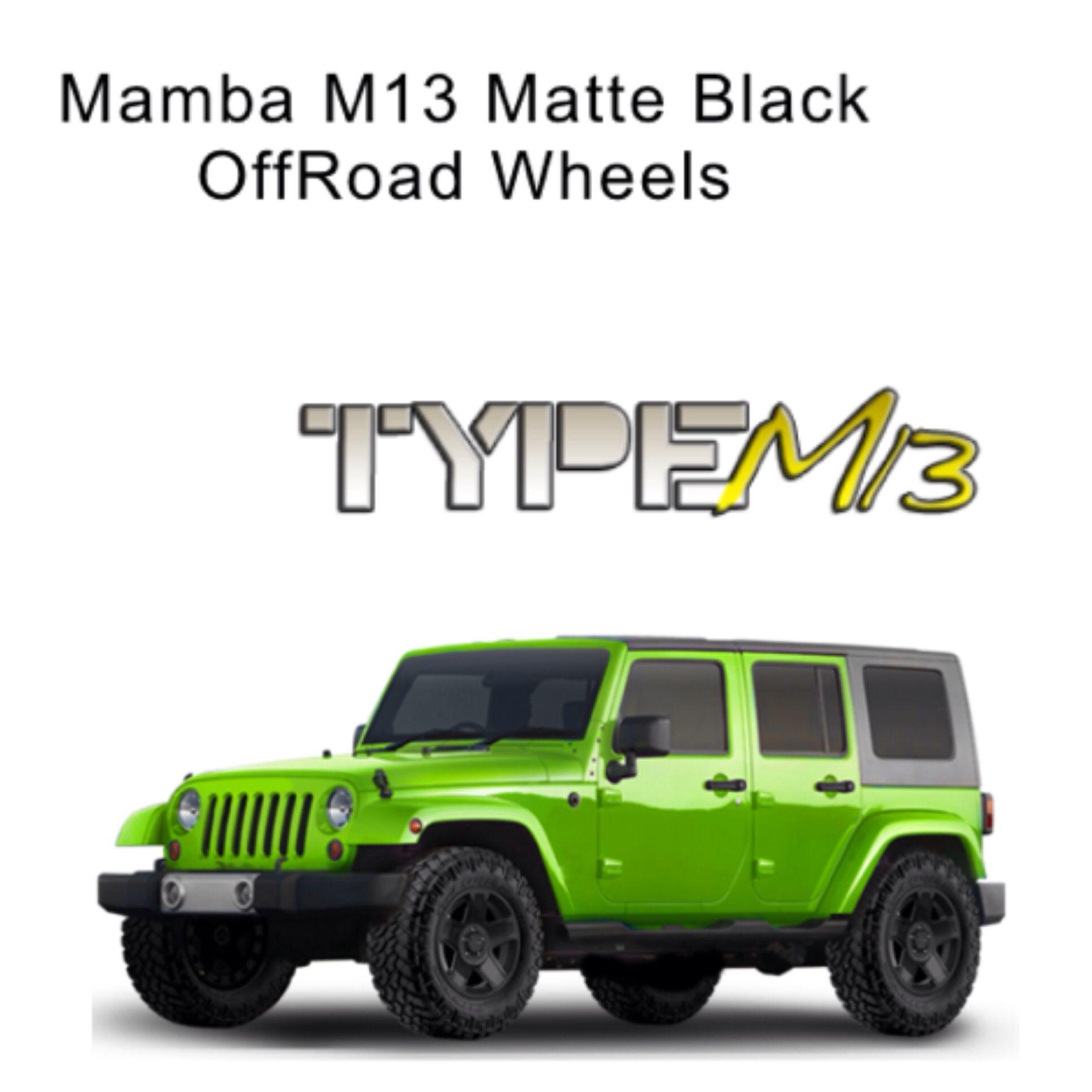 Mamba M13 Matte Black OffRoad Wheels On Sale & Free Shipping!!! #offroadupgrades  #mamba  #mambawheels  #matteblack #offroadwheels  #m13