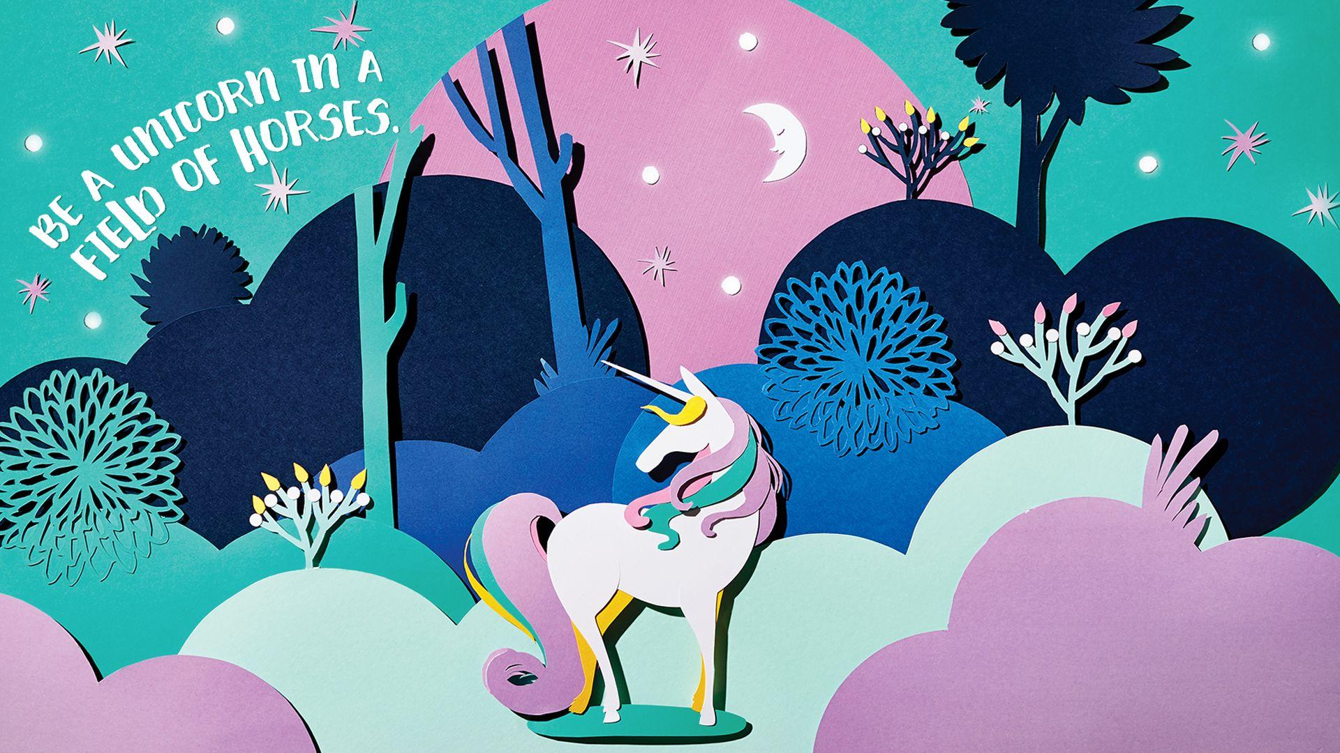 Windows Desktop Wallpaper Free Unicorn 10