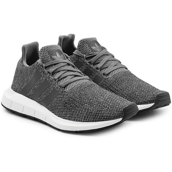 Adidas Originals Swift Run Primeknit Sneakers ($85) ❤ liked on Polyvore  featuring men's fashion