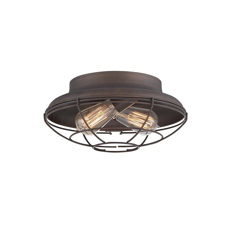 Trent austin design bruges 2 light flush mount reviews wayfair