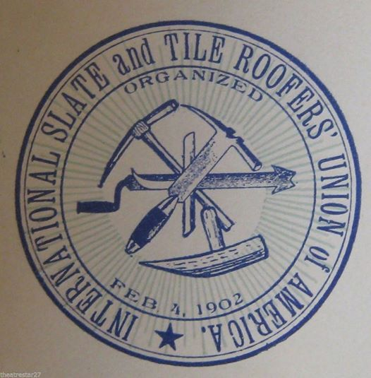 Sharing An Old Slate And Tile Roofers Union Stamp Circa 1902 Please Feel Free To Share Our Content And If You Have Any Questions Ask U Roofer Roofing Stamp