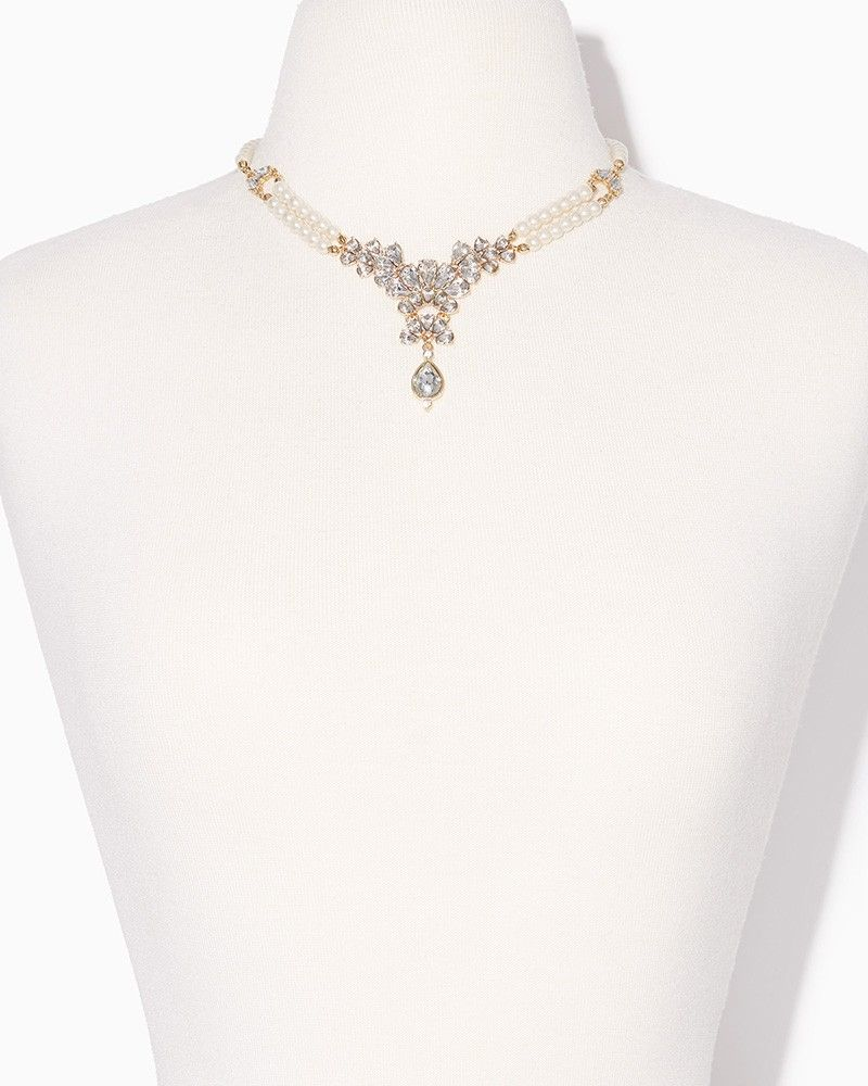 charming charlie Romantic Pearl Necklace UPC 450900533304