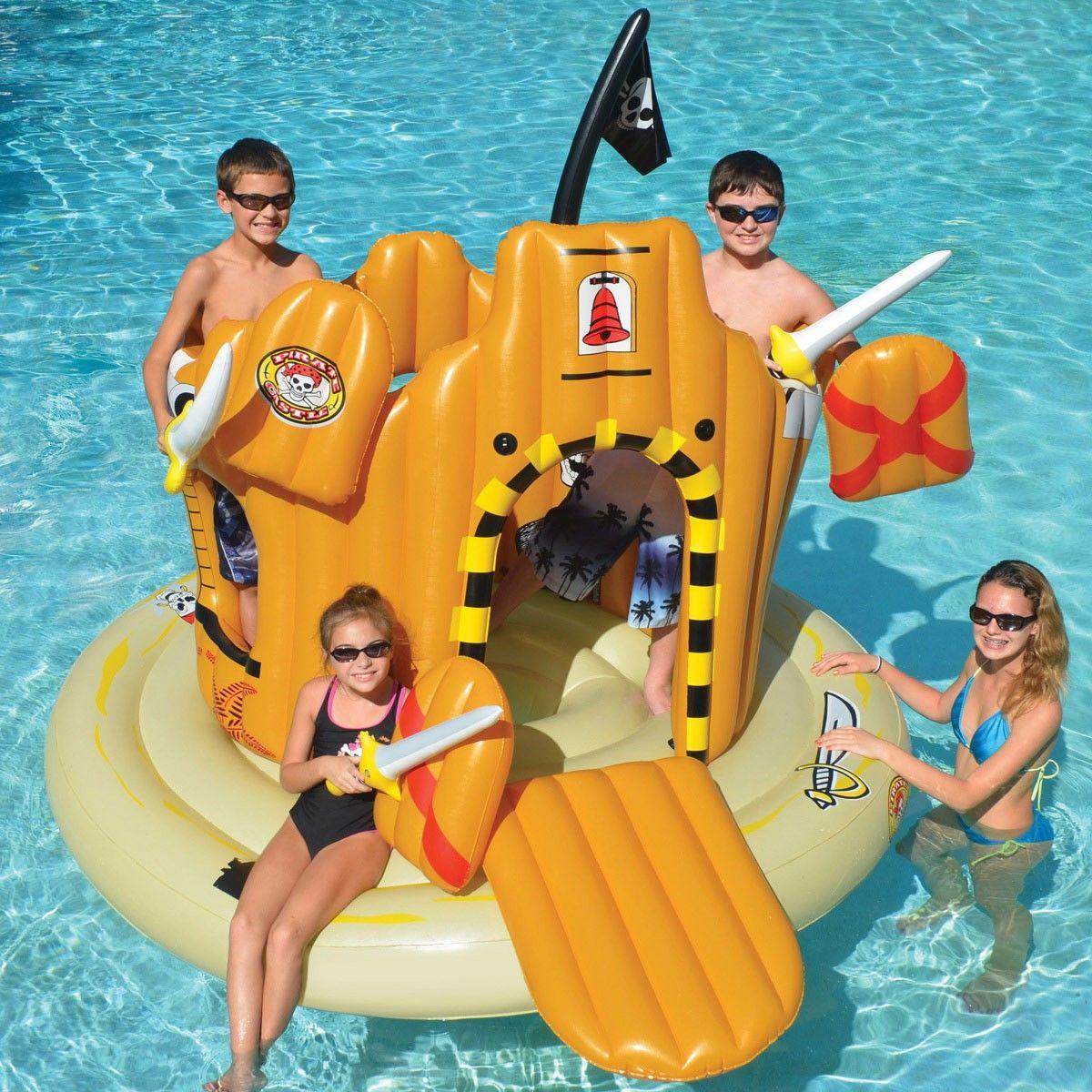Swimline Pirate Island Adventure Set in 2019 | Pool floats ...