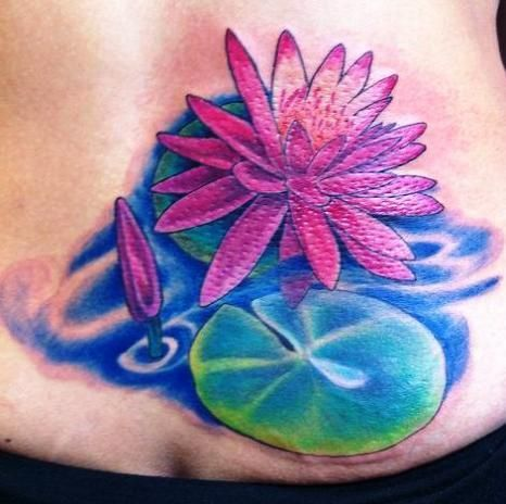 Water Lily Pad Tattoo Post Navigation X3cb X3elily Pad Tattoo Lily Lower Back Tattoos Back Tattoos Tattoos For Daughters