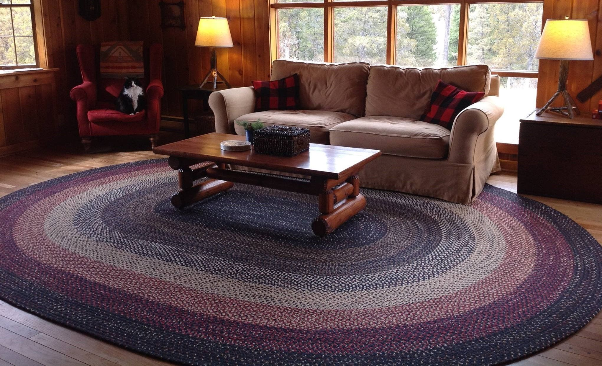Best Oval Braided Rugs Round Braided Rugs Hall Runners Chair 400 x 300