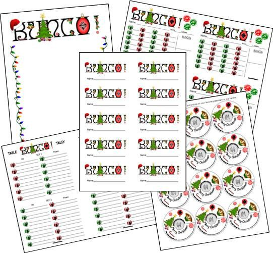 Printable Sheet Bunco Score Cards - Worksheet  Coloring Pages - bunco score sheets template