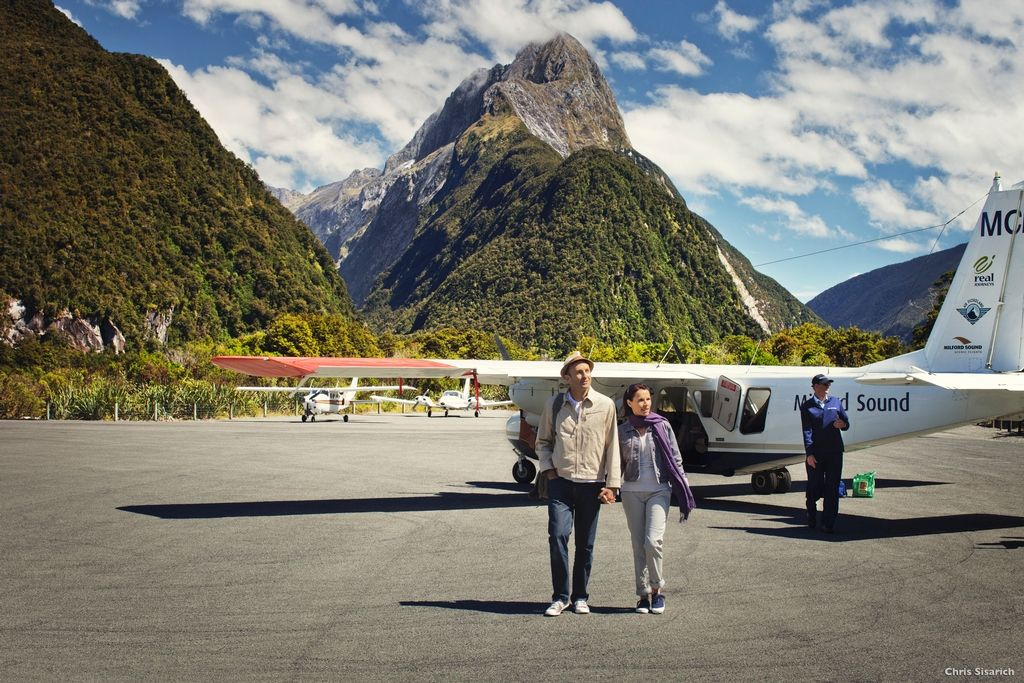 The quick and scenic way to Milford Sound.