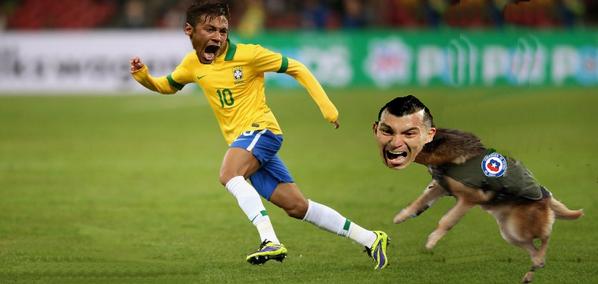 Los mejores memes del reñido encuentro Chile VS Brasil