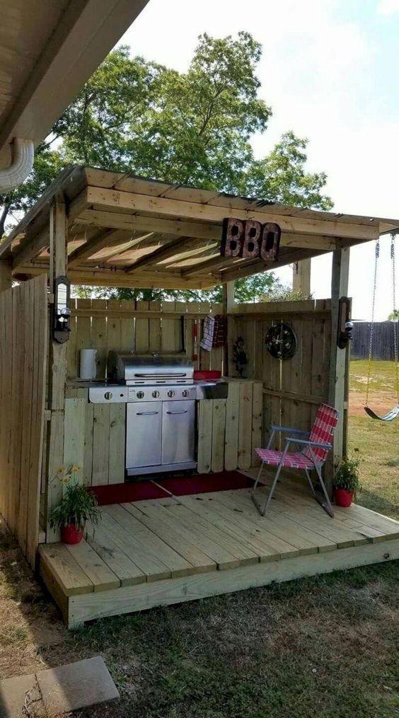 15 idées pour aménager une cuisine d'été à l'extérieur